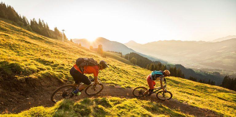 Radfahrer Fleckalmbahn